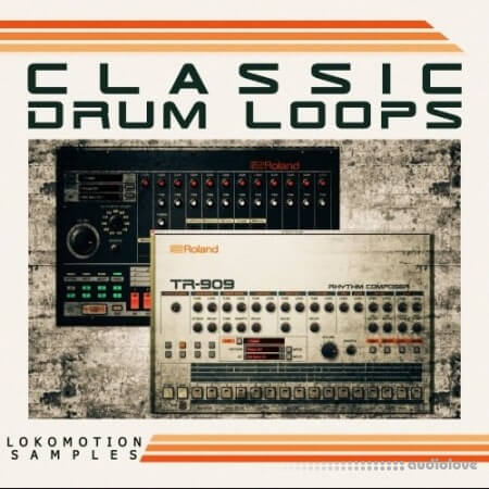 Loko Motion Records Classic Drum Loops WAV