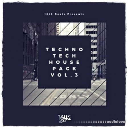 1642 Beats Techno Tech House Pack 3 WAV