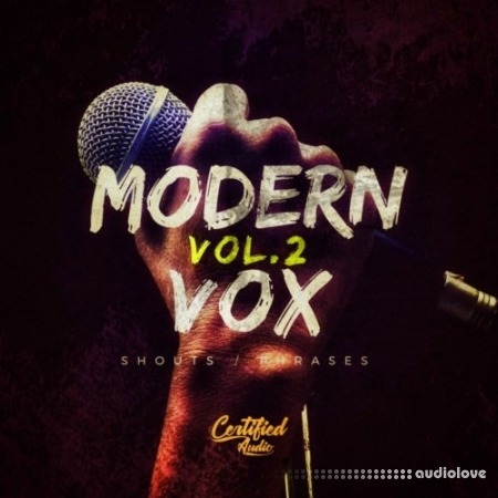 Certified Audio LLC Modern Vox Vol.2 WAV