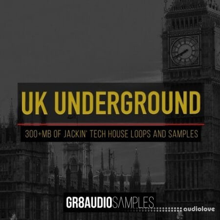 GR8 Audio Samples UK Underground WAV