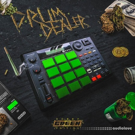 2DEEP Drum Dealer Green Edition