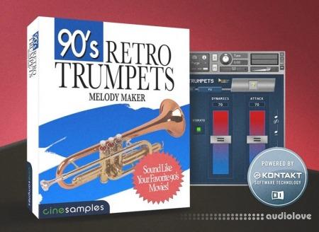 Cinesamples 90s Retro Trumpets KONTAKT