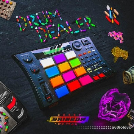 2DEEP Drum Dealer Rainbow Edition WAV