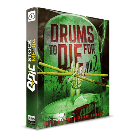 Epic Stock Media Drums To Die For Vol.2 WAV