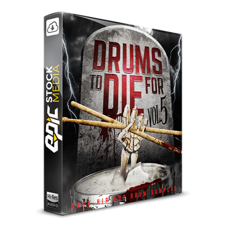 Epic Stock Media Drums To Die For Vol.5 WAV