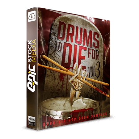 Epic Stock Media Drums To Die For Vol.3 WAV