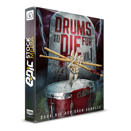 Epic Stock Media Drums To Die For Vol.1 WAV