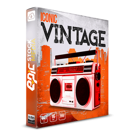 Epic Stock Media Iconic Vintage WAV