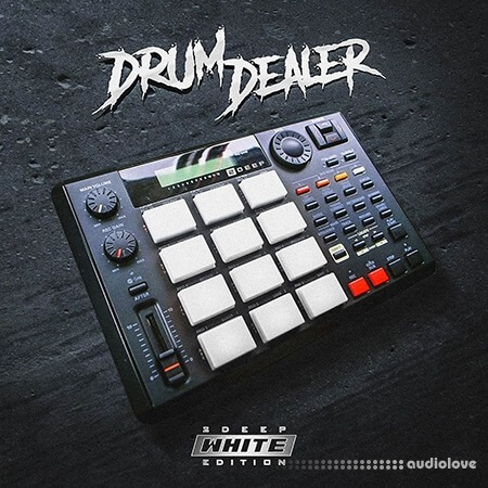 2DEEP Drum Dealer White Edition