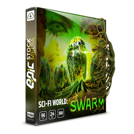 Epic Stock Media Sci-fi World Swarm Game Ambience Loop Library
