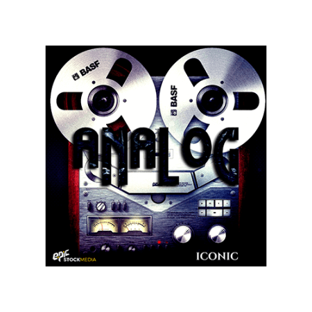 Epic Stock Media Iconic Analog Drum Loops