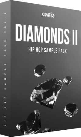Cymatics Diamonds ll Hip Hop Sample + Bonuses WAV MiDi Synth Presets