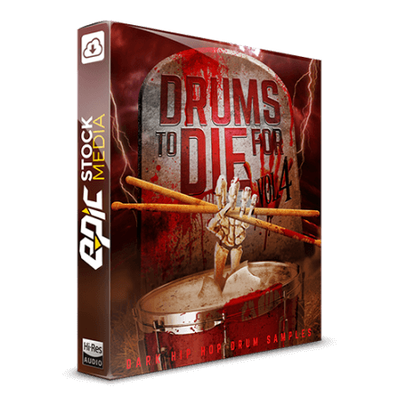Epic Stock Media Drums To Die For Vol.4