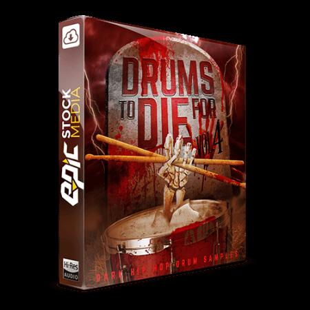 Epic Stock Media Drums To Die For Vol.4 WAV