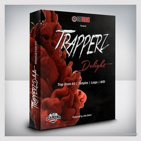 Tru-Urban Trapperz Delight Drum Kit WAV MiDi