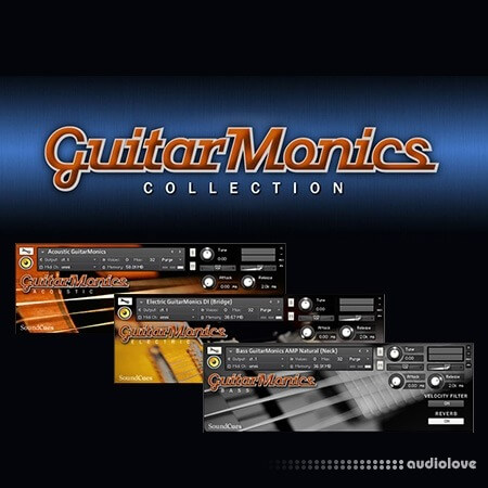 SoundCues GuitarMonics Collection KONTAKT