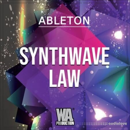 WA Production Synthwave Law WAV MiDi Synth Presets Ableton Live