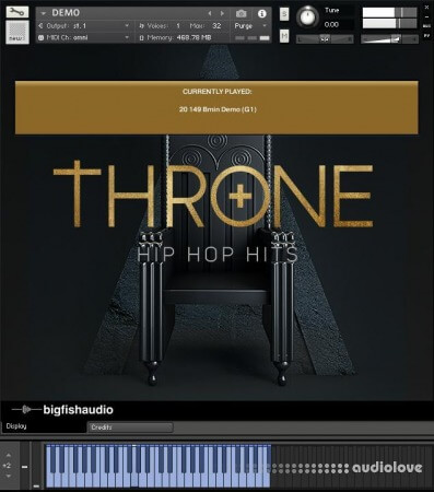 Big Fish Audio Throne Hip Hop Hits MULTiFORMAT KONTAKT