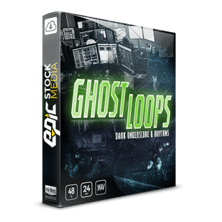 Epic Stock Media Ghost Loops - Dark Underscore and Rhythms