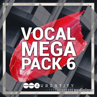 Audentity Records Vocal Megapack 6