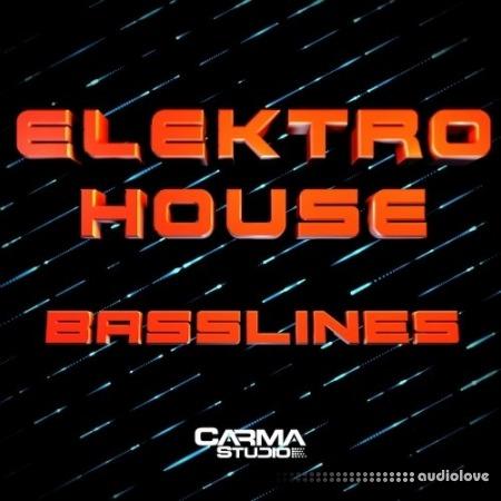 Carma Studio Elektro House Basslines WAV