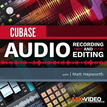 Ask Video Cubase 10 103 Audio Recording and Editing