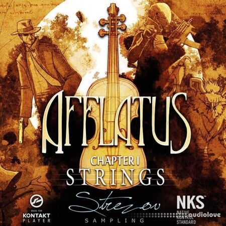 Strezov Sampling AFFLATUS Chapter I Strings v1.1 KONTAKT