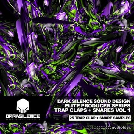 Dark Silence Sound Design Trap Claps + Snares Vol.1 WAV