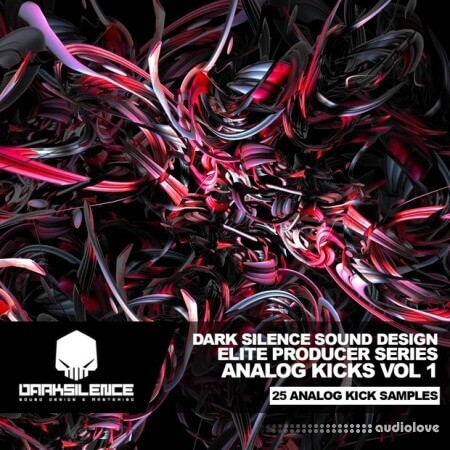 Dark Silence Sound Design Analog Kicks Volume 1 WAV