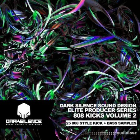Dark Silence Sound Design 808 Kicks Volume 2 WAV