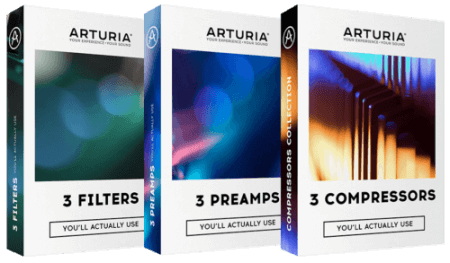 Arturia 3 x 3 FX 2019.3 CSE WiN