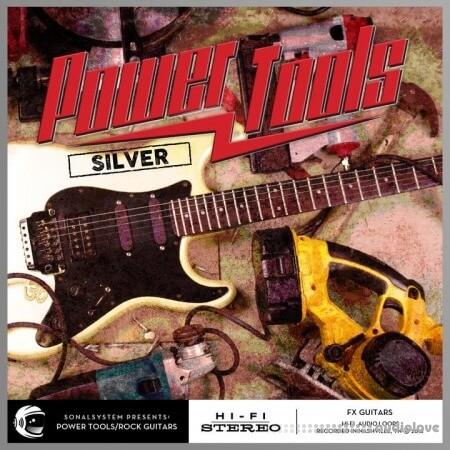 SonalSystem Power Tools Hard Rock Guitars (Silver) WAV