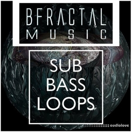 BFractal Music Tech House Sub Bass Loops WAV