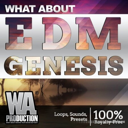 WA Production EDM Genesis WAV MiDi Synth Presets DAW Templates