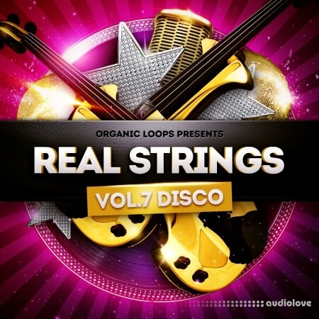 Organic Loops Real Strings Disco Strings Vol.2 WAV MiDi REX