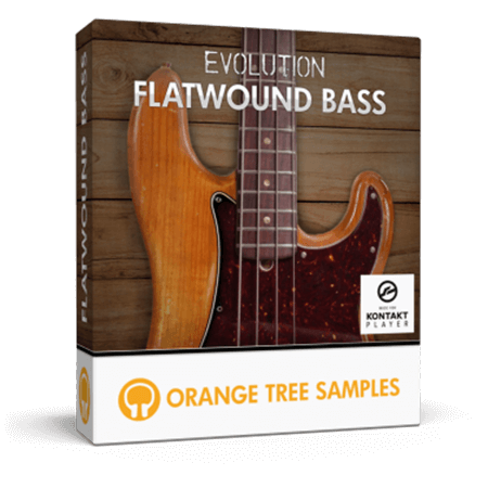 Orange Tree Samples Evolution Flatwound Bass KONTAKT