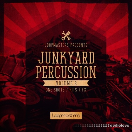 Loopmasters Junkyard Percussion Vol.2 MULTiFORMAT