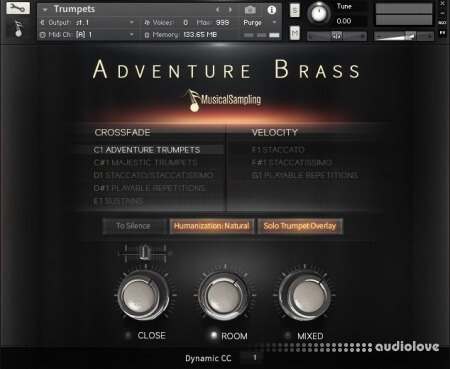 Musical Sampling Adventure Brass v1.1 KONTAKT