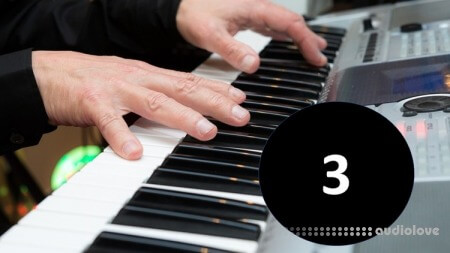 Udemy Piano Rhythms Vol.3 Bossa Nova Style TUTORiAL