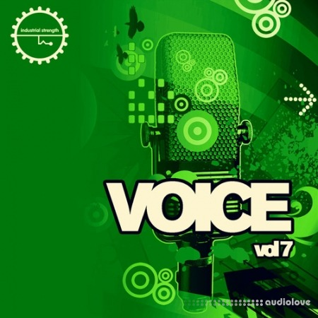 Industrial Strength Voice Vol.7 WAV MiDi