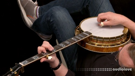 Lynda Banjo Lessons with Tony Trischka: 3 Playing Songs TUTORiAL