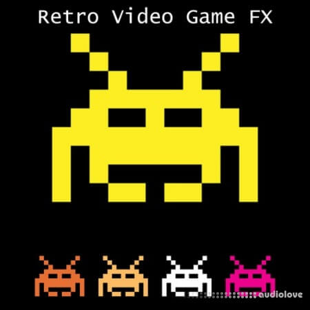 Glitchedtones Retro Video Game FX WAV