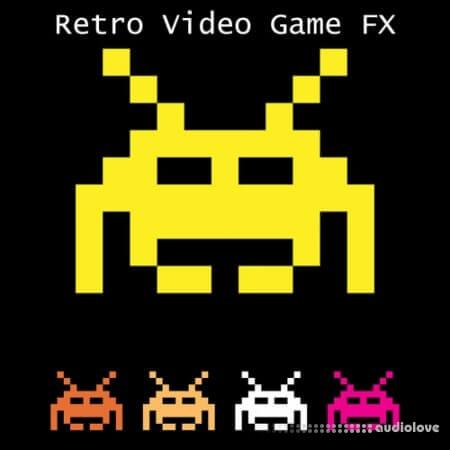 Glitchedtones Retro Video Game FX WAV