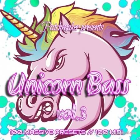 Patchmaker Unicorn Future Bass Vol.3 Synth Presets MiDi