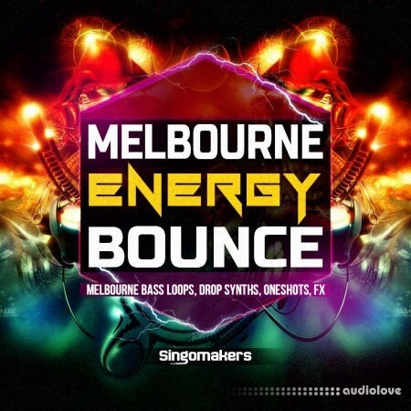 Singomakers Melbourne Energy Bounce WAV MiDi REX Synth Presets