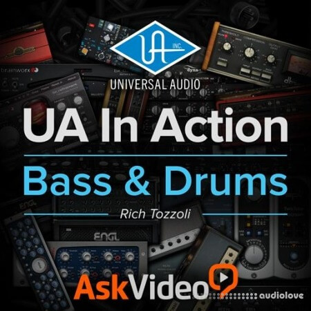 Ask Video Universal Audio 101 UA In Action Bass and Drums TUTORiAL