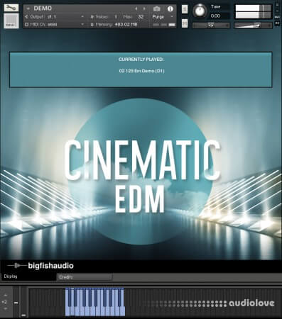 Big Fish Audio Cinematic EDM MULTiFORMAT KONTAKT