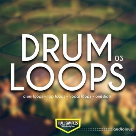 Hall Samples Drum Loops Vol.3 WAV