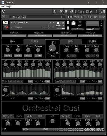 Channel Robot Orchestral Dust v1.1 KONTAKT