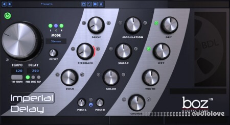 Boz Digital Labs Imperial Delay v1.5.10 WiN MacOSX